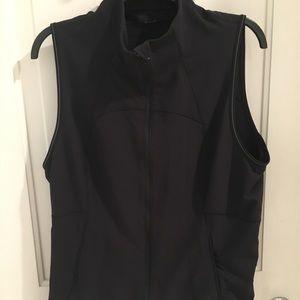 Lululemon Black Zip-Up Vest